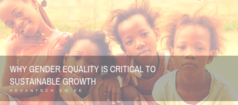 Why Gender Equality is Critical to Sustainable Growth
